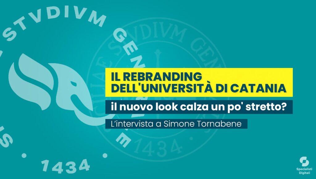 Il rebranding dell'Università di Catania